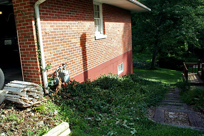 Yardwork summer 2008 before and during